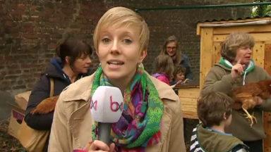 Un poulailler collectif inauguré à Etterbeek