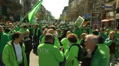 """""""La coupe est pleine"""": la CSC appelle à la grève dans les services publics le 30 avril"""