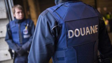 Les douaniers ont infligé 5.000 euros d'amendes au cours de leur action de zèle