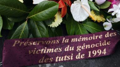 Commémoration à Bruxelles des 25 ans du génocide des Tutsis au Rwanda