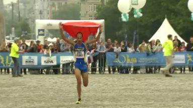 Najim el Qady, remporte pour la troisième fois les 20km de Bruxelles