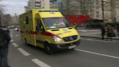 Molenbeek : un accident impliquant plusieurs voitures a fait un blessé