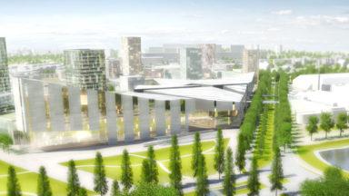 Grimbergen donne un avis négatif à propos du chemin entre le parking C et le projet NEO