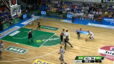 Basket : trois points ont manqué au Brussels pour aller en finale