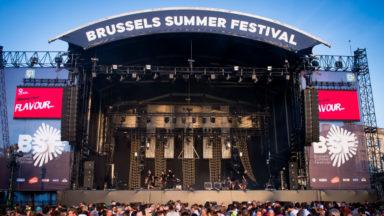 Brussels Summer Festival : succès de foule pour Christine and the Queens malgré la pluie