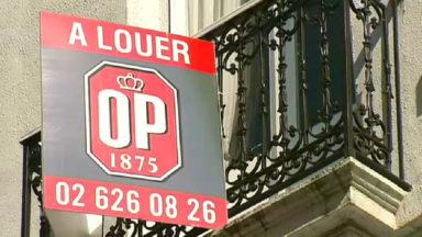 Manifestation contre les loyers élevés de logements de mauvaise qualité à Bruxelles