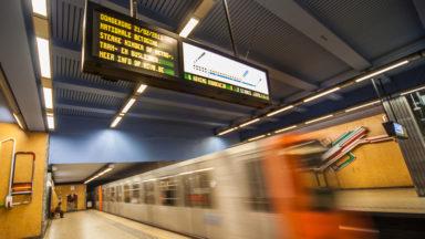 Stib: le métro de la ligne 5 ne circulera pas entre Veeweyde et Erasme le weekend du 19 et 20 octobre