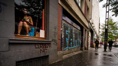Une cinquantaine de personnes manifestent contre les violences envers les travailleurs du sexe