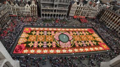 Coronavirus : un son et lumière à la Grand-Place pour remplacer le traditionnel Tapis de fleurs