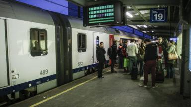 Après un arrêt total, la circulation des trains entre Liège et Bruxelles reprend petit à petit
