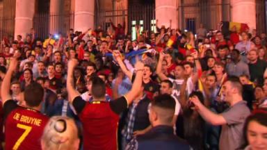 Bruxelles : pétards, feux de Bengale et sacs à dos interdits durant la Coupe du monde