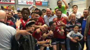 Futsal : Annessens 25 remporte la Coupe de Belgique