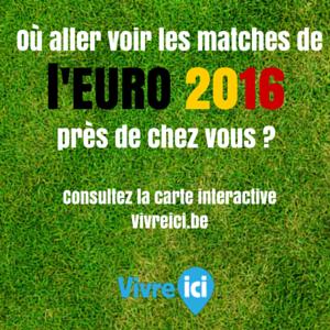 Carte interactive Euro 2016