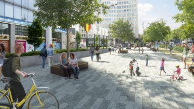 La place Madou deviendra l'esplanade Madou en 2018