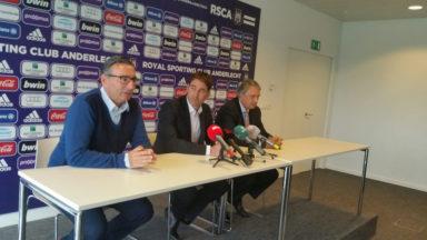 RSC Anderlecht : l'entraîneur René Weiler prolonge jusqu'en juin 2019