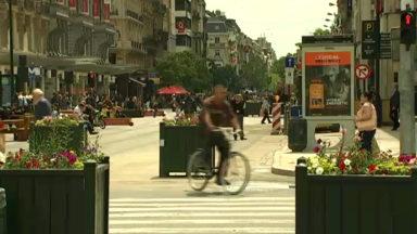 Bruxelles : des bornes rétractables bientôt installées sur la rue du Midi et la rue Grands Carmes