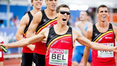 Kevin Borlée le plus rapide de la finale du 4X400m