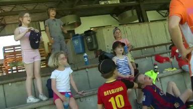 Les enfants en stage sous la chaleur