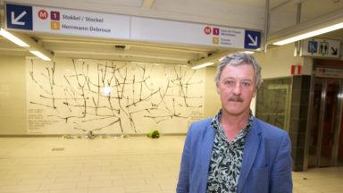 Maelbeek : l'artiste Benoît van Innis choisit l'olivier comme symbole de paix