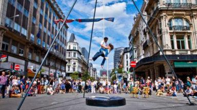 Festival Hopla! : du cirque dans les rues de Bruxelles durant 4 week-ends