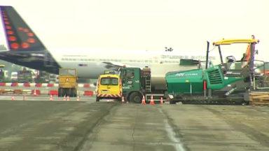 Brussels Airport entame la rénovation de l'une de ses pistes