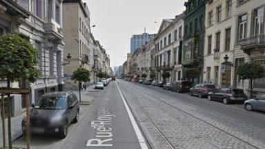 Câble arraché rue Royale, les trams de la Stib interrompus