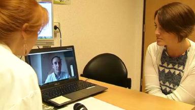Par vidéoconférence, l'hôpital Saint-Luc fait appel à des interprètes