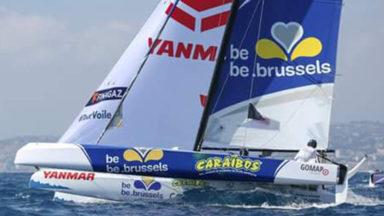 Tour Voile : le bateau bruxellois be.brussels – Caraïbos reste à la 25e place