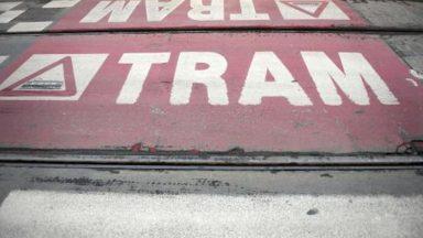 Un enfant coincé sous un tram à Koekelberg
