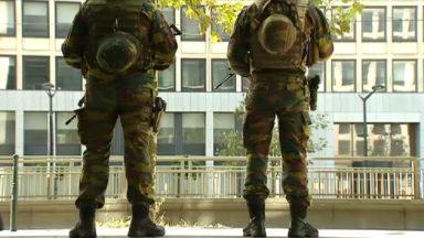 Encore 550 militaires dans les rues en Belgique jusqu'en octobre