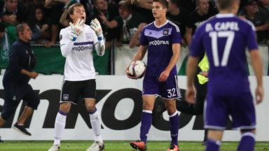 Europa League : Anderlecht se laisse surprendre à Saint-Etienne (1-1)