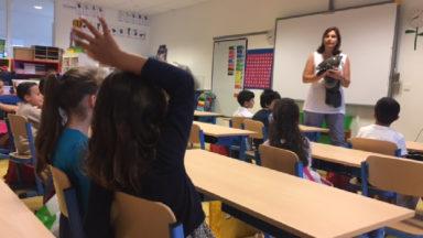 L'école des Lilas à Berchem-Sainte-Agathe accueille des enfants souffrant d'un handicap