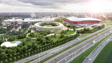 Stade national : l'administration flamande approuv l'étude d'incidence environnementale