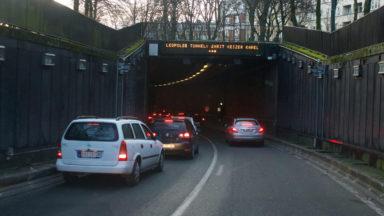 Tunnels bruxellois : Rogier et Léopold II rouverts à la circulation