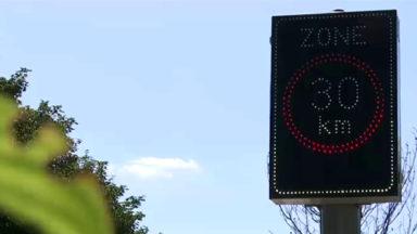 De nouveaux panneaux zone 30 s'illuminent à certaines heures