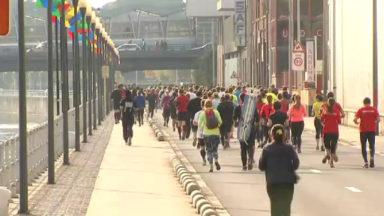 650 coureurs ont participé au Brussels Canal Run
