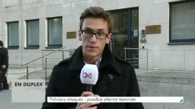 Policiers poignardés à Schaerbeek : l'agresseur est un ancien militaire