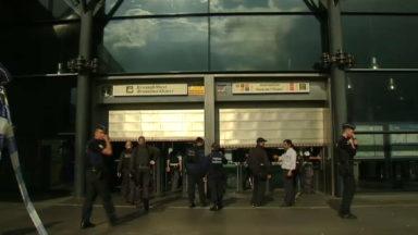 Gare de l'Ouest : l'alerte est levée
