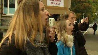 Grève à la Haute Ecole Lucia de Brouckère : un accord a été trouvé