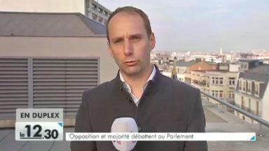 Parlement bruxellois : débat soutenu au lendemain de la déclaration de politique générale