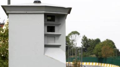 Quelque 15.000 infractions constatées par les radars de la zone de police Bruxelles Midi