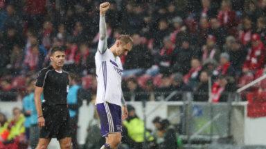 Europa League : Anderlecht revient de Mayence avec un point 1-1 et reste en tête de son groupe