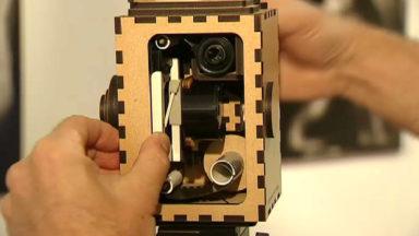 Une caméra construite en matériaux recyclés pour retrouver l'émotion des débuts du cinéma
