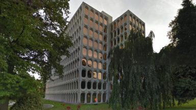 Le bâtiment d'architecture moderne des cimenteries CBR est désormais protégé