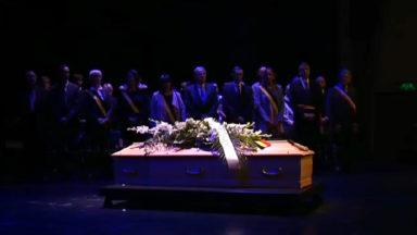 Woluwe-Saint-Lambert : cérémonie d'hommage à Georges Désir