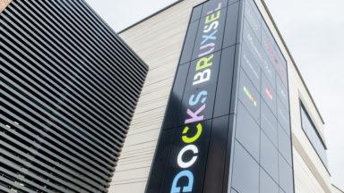 Les premiers visiteurs découvrent le nouveau complexe commercial Docks Bruxsel
