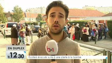 Molenbeek : fin de l'alerte à la bombe à l'école 9