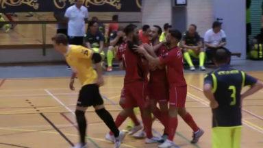 Futsal : Le Futsal Jette vient à bout de La Hestre 2-5