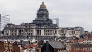 """Une quarantaine de personnes réclament justice pour """"Lamine"""" à Bruxelles"""