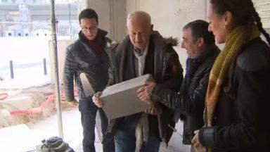 Pose de la première pierre d'un important chantier à Anderlecht